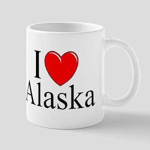 """""""I Love Alaska"""" Mug"""