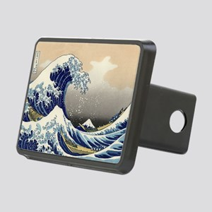 hokusai great wave Rectangular Hitch Cover