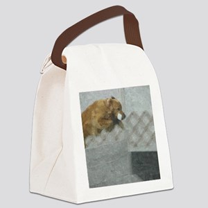 Golden ROH Oil Canvas Lunch Bag