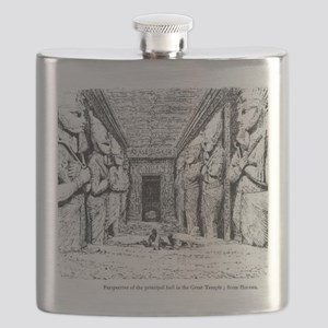 egypt great temple hall Flask