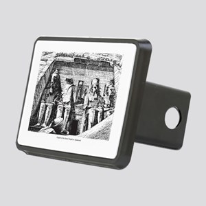 egypt great temple Rectangular Hitch Cover