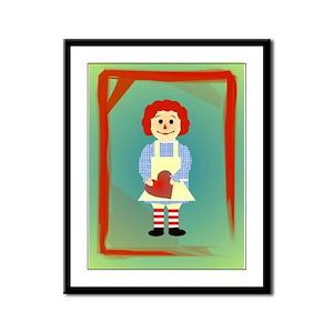 Childhood Memories Variation Framed Panel Print