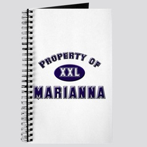 Property of marianna Journal