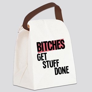 bitches Canvas Lunch Bag