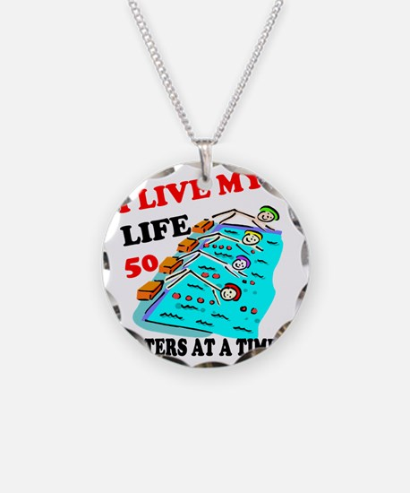 50 meters at a time Necklace