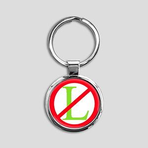 noel1 Round Keychain