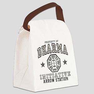 Dharma Arrow Canvas Lunch Bag