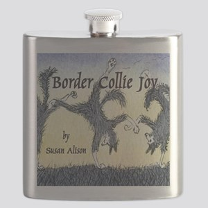 Border Collie Joy cover pic Flask