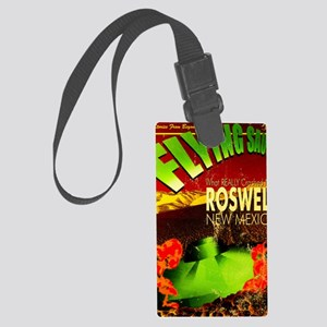 Roswell Poster Large Luggage Tag