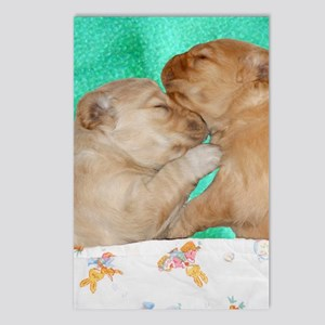 Puppies Sleeping iPhone H Postcards (Package of 8)