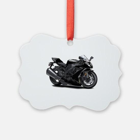 Ninja Black Bike Ornament