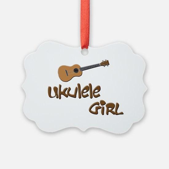 ukulele girls Ornament