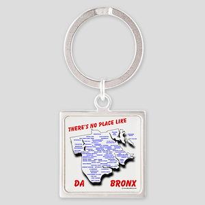 bronx Square Keychain