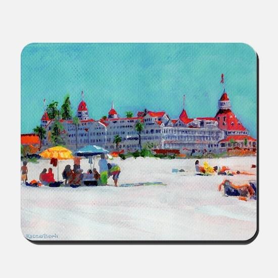 hotel del coronado picture Mousepad