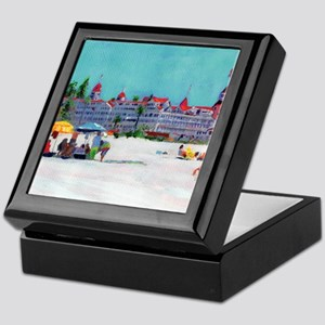 hotel del coronado picture Keepsake Box