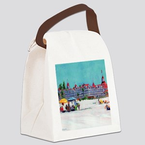 hotel del coronado picture Canvas Lunch Bag
