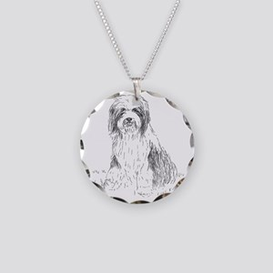 beardie-vp-1 Necklace Circle Charm