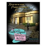 Built for Speed: Coral Court Motel SMALL Poster