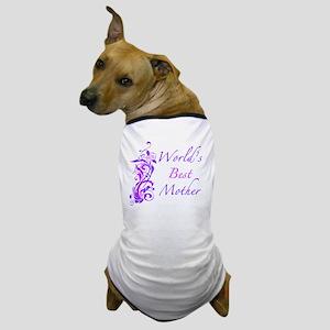 Floral_Mother Dog T-Shirt