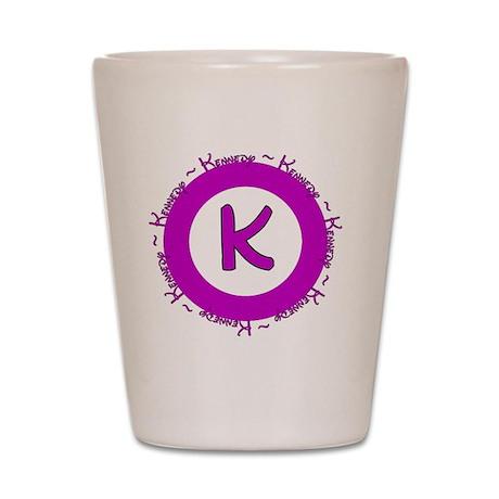 kennedylogo Shot Glass