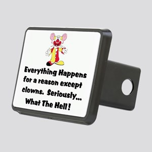1everythinghappensclown bi Rectangular Hitch Cover