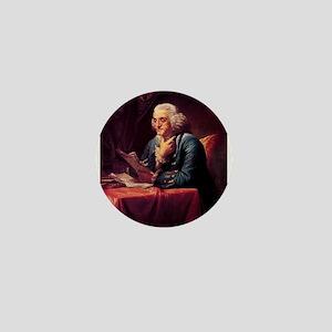 Benjamin Franklin Mini Button