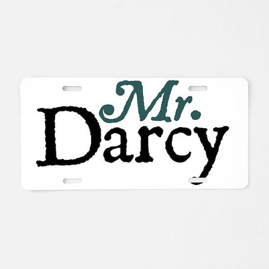 mrdarcy copy Aluminum License Plate
