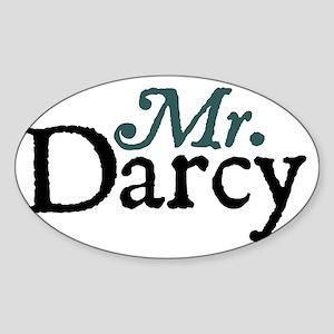 mrdarcy copy Sticker (Oval)