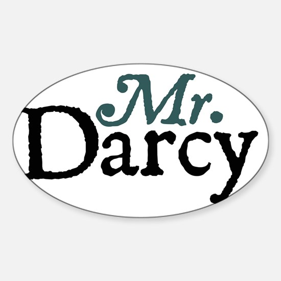 mrdarcy copy Sticker (Oval)