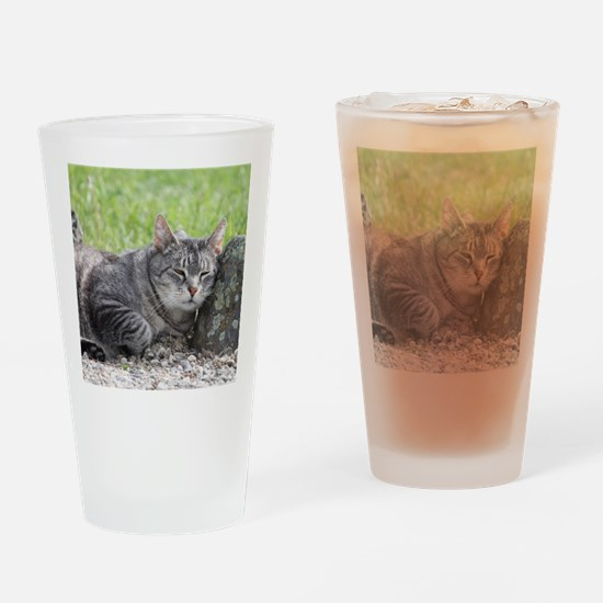 Rocked and Loaded Drinking Glass