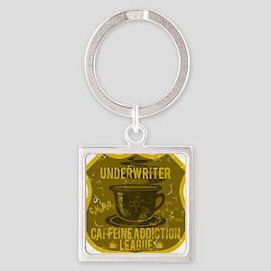UNDERWRITER Square Keychain