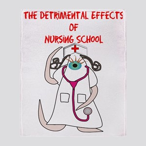 The Detrimental Effects of Nursing S Throw Blanket