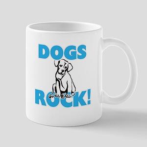 Dogs rock! Mugs