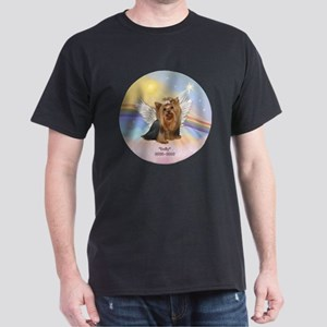 ORN-Clouds=Yorkie DOLLY Dark T-Shirt