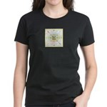 Mandala Three Women's Dark T-Shirt