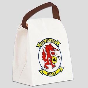 hsc-84-lg Canvas Lunch Bag