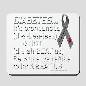 diabeetus Mousepad