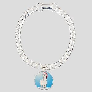 xmasalpacasq Charm Bracelet, One Charm