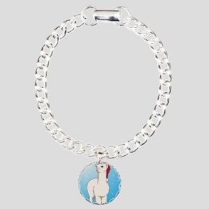 xmasalpaca Charm Bracelet, One Charm