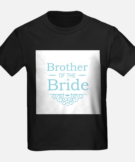 Brother of the Bride blue T-Shirt