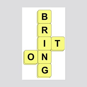 BananaGram_front Sticker (Rectangle)