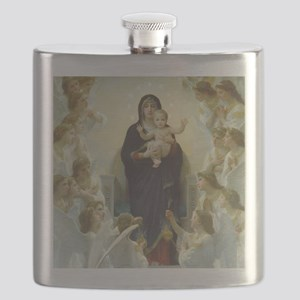 Bouguereau Art calendar January Flask