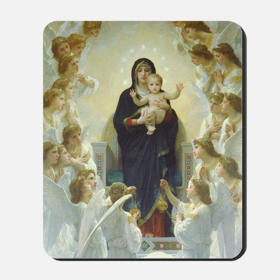 Bouguereau Art calendar January Mousepad