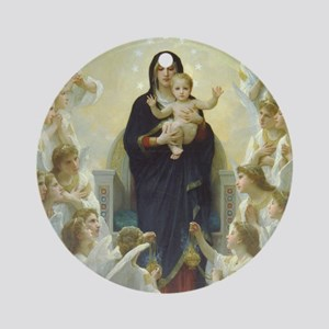 Bouguereau Art calendar January Round Ornament