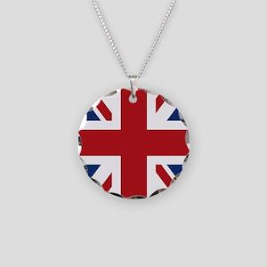 union-jack_13-5x18 Necklace Circle Charm