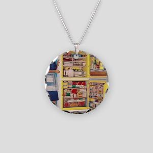 sc014c1334 Necklace Circle Charm