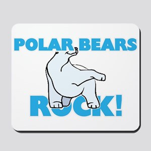 Polar Bears rock! Mousepad