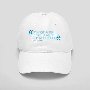 its not a tea party mug Cap