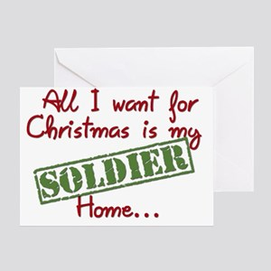 XSoldier Greeting Card