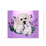 Great Pyranees Pup Postcards (Package of 8)
